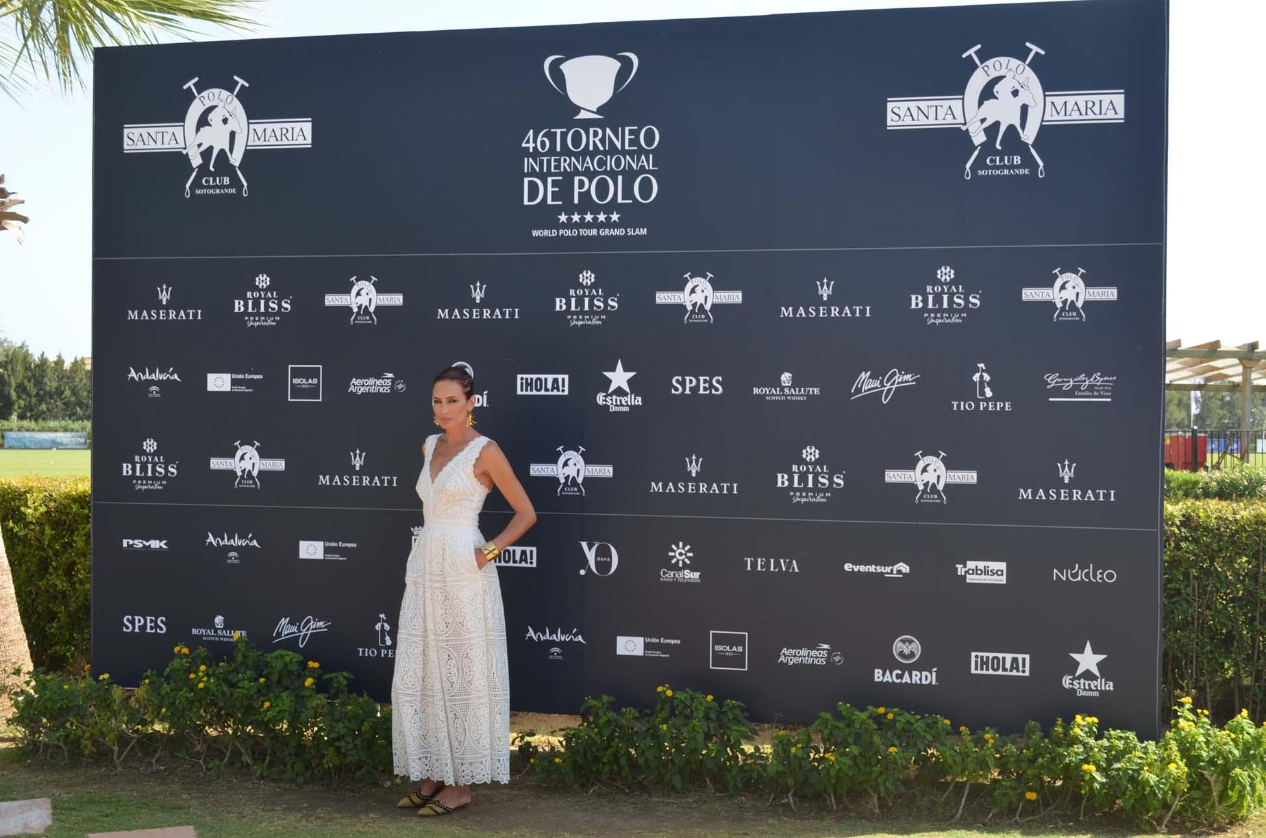 Nieves Alvarez Maserati Torneo Internacional Polo