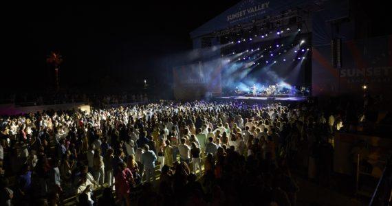 Imagen de uno de los conciertos del Sunset Valley 2017